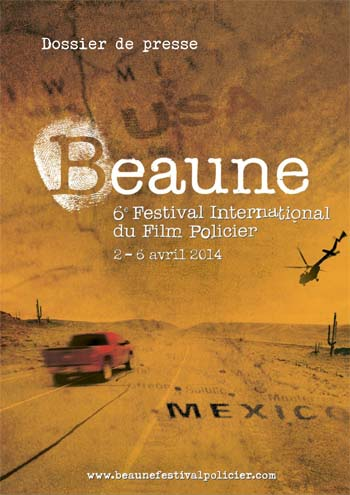 Affiche Festival International du Film Policier de Beaune 2014