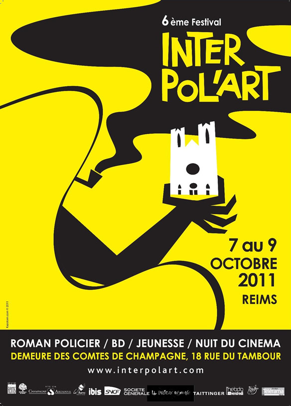 Affiche Interpol'art 2011